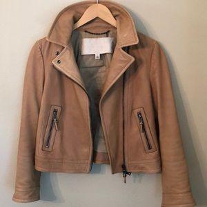 Coach leather moto jacket 🧥